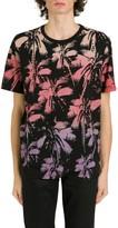 Saint Laurent Palms Allover Printed T-shirt