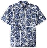 Reyn Spooner Men's Spooner Kloth Classic Fit Button Front Hawaiian Shirt