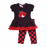 Rare Editions Girls 2-pc. Legging Set-Toddler