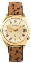 Bulova Accutron 14K Yellow Gold Movement 218 Vintage Mens Watch