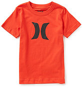 Hurley Little Boys 4-7 Icon Hi-D Short-Sleeve Tee