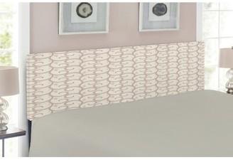 East Urban Home Upholstered Panel Headboard Size: Twin