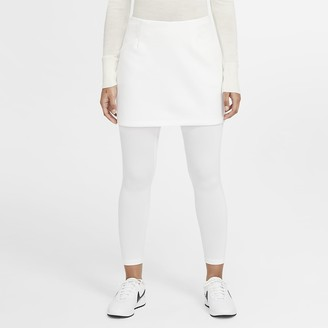 Nike Women's 2-in-1 Golf Skirted Tights Dri-FIT UV