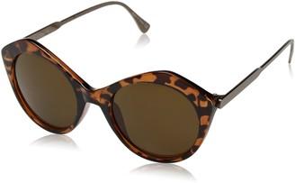 Joe's Jeans Womens Women's JJ 6032 Geometric Fashion Designer UV Protection Sunglasses