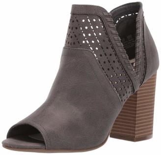 Fergalicious Women's Huxley Heeled Sandal Denim 12 M US