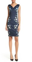 Ted Baker Women's Katiey Placed Print Sheath Dress