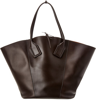 Bottega Veneta Basket Large Leather Tote