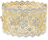 Jarin K Jewelry - Wide Lace Hinged Bangle