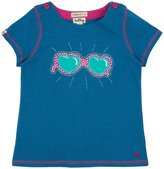 Hatley Applique Tee (Toddler/Kid) - Cool Sunglasses-6