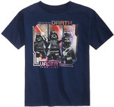 Lego Star Wars Darth Vader Cotton T-Shirt, Little Boys (2-7)