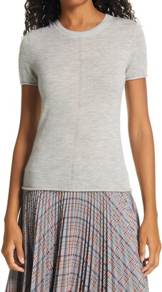 Rag & Bone Mandee Cashmere Short Sleeve Sweater