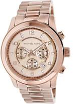 Michael Kors Men's MK8096 Runway Stainless Steel Watch, 51mm
