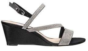 Nina Transition Naloni Embellished Wedge Sandals