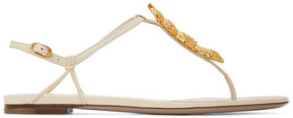 Valentino Off-White Garavani Serpent Sandals