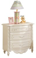ACME Furniture Pearl Kids Nightstand - Pearl White - Acme