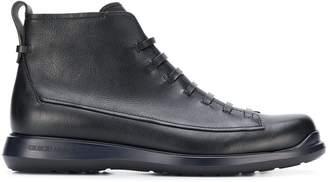 Giorgio Armani lace-up boots