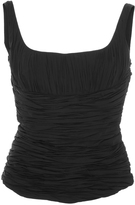 Brock Collection Tala Ruched Tank Top