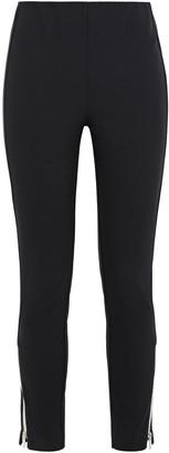Rag & Bone Simone Cropped Zip-detailed Skinny Pants