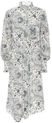 Etoile Isabel Marant Cescott printed midi dress