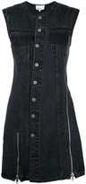 3.1 Phillip Lim Asymmetric denim dress - women - Cotton - 2