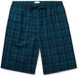 Derek Rose Barker Checked Cotton-Poplin Pyjama Shorts