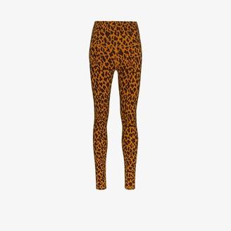 Varley Century cheetah print leggings