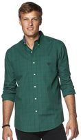 Chaps Men's Open Ground Tattersall Button-Down Shirt