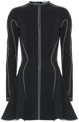 Thierry Mugler Scuba minidress