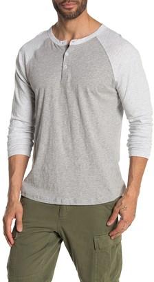 Vestige Color Block Long Sleeve Raglan Shirt