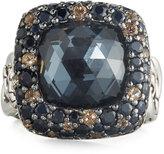 John Hardy Batu Klasik Square Multi-Gem Ring, Size 7