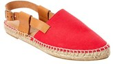 Matt Bernson Toro Leather-trim Espadrille.