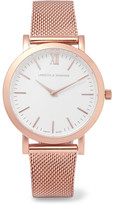 Larsson & Jennings Lugano Rose Gold-plated Watch - One size