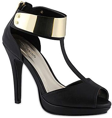 Call it SPRING Call It SpringTM Dostale T-Strap Peep-Toe Pumps