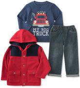 Kids Headquarters 3-Pc. Jacket, T-Shirt & Jeans Set, Baby Boys (0-24 months)