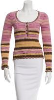 M Missoni Striped Wool Top