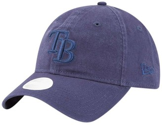 New Era Women's Navy Tampa Bay Rays Core Classic Tonal Team 9TWENTY Adjustable Hat