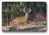 """LiangZP Deer Hunting Art Custom Machine Washable Door Mats Indoor Outdoor House Doormat 23.6""""L x 15.7""""W"""