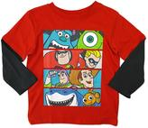 Disney Boys' Long-Sleeve Graphic T-Shirt
