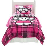SANRIO Hello Kitty® I Heart Nerd Bed Set