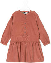 Burberry long sleeve buttoned dress