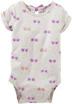 Osh Kosh Baby Girl Sunglasses Bodysuit