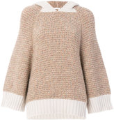 See by Chloe hooded oversized sweater
