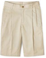 Izod Pleated Shorts - Preschool Boys 4-7 and Slim