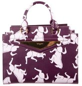 Vionnet Horse Print Shopping Bag w/ Tags