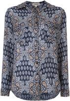 L'Agence floral print shirt - women - Silk - XS