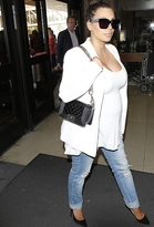 Jet JET Jamie Roll Up Slim Leg Maternity Jeans as Seen On Kim Kardashian