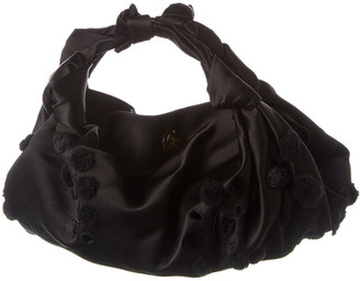 The Row Ascot Small Satin Clutch