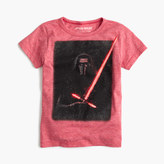 J.Crew Kids' Star WarsTM for crewcuts glow-in-the-dark Kylo Ren T-shirt