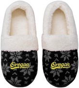Unbranded Women's Oregon Ducks Ugly Knit Moccasin Slippers