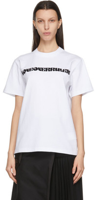 Sacai White Hank Willis Thomas Edition Graphic T-Shirt
